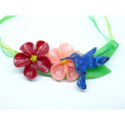 Hibiscus et colibri