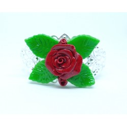 Bracelets Roses rouges