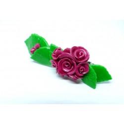 Barrette Bouquet de Roses...