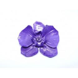 Broche Orchidée Violette